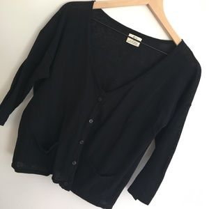 UO | Pins & Needles | Black Cardigan | L